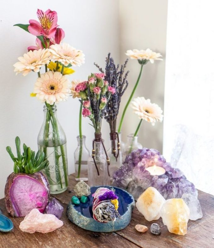 colorful centerpiece ideas
