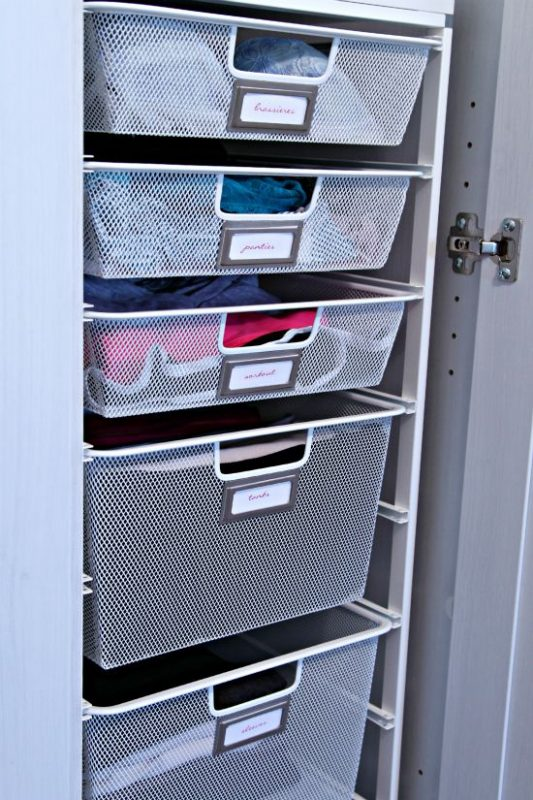 deep closet organization ideas