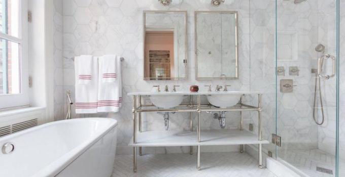 classic small bathroom ideas