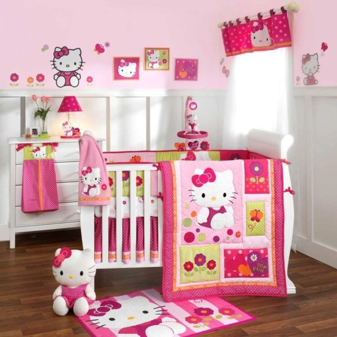 wall design for girl room
