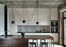 Industrial Decoration of Kitchen Decorating Ideas