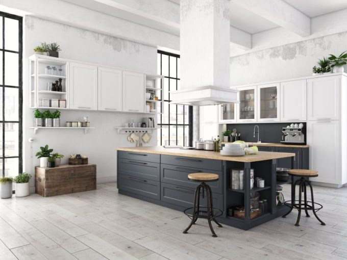 Multi-function Island for Kitchen Decorating Ideas