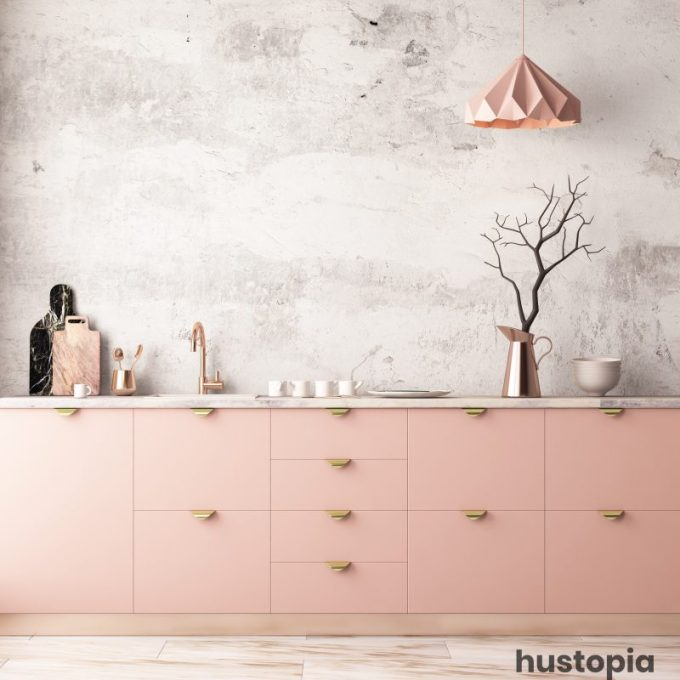 Pastel Mood for Kitchen Decorating Ideas