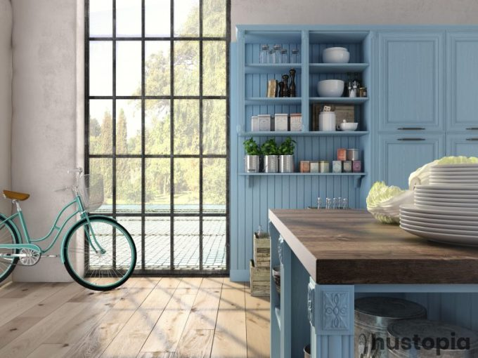 Something Blue Kitchen Decorating Ideas