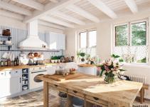 Farmhouse and Vintage Kitchen Style