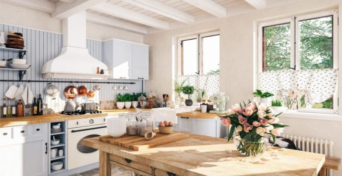 Farmhouse and Vintage Kitchen Style