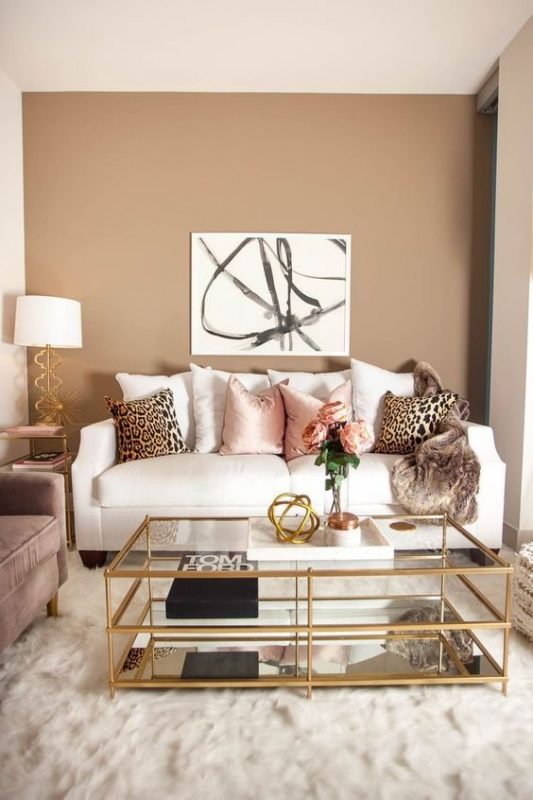 Feminine Decor for Living Room