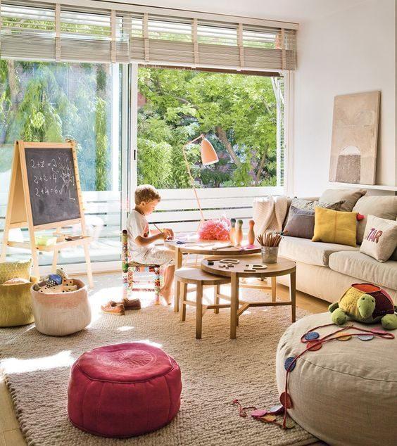 Kiddie Play Space for Living Room