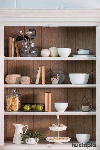 Panel Accent for Kitchen Pantries