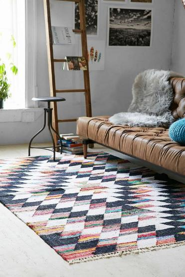 Pattern Rug For Living Room