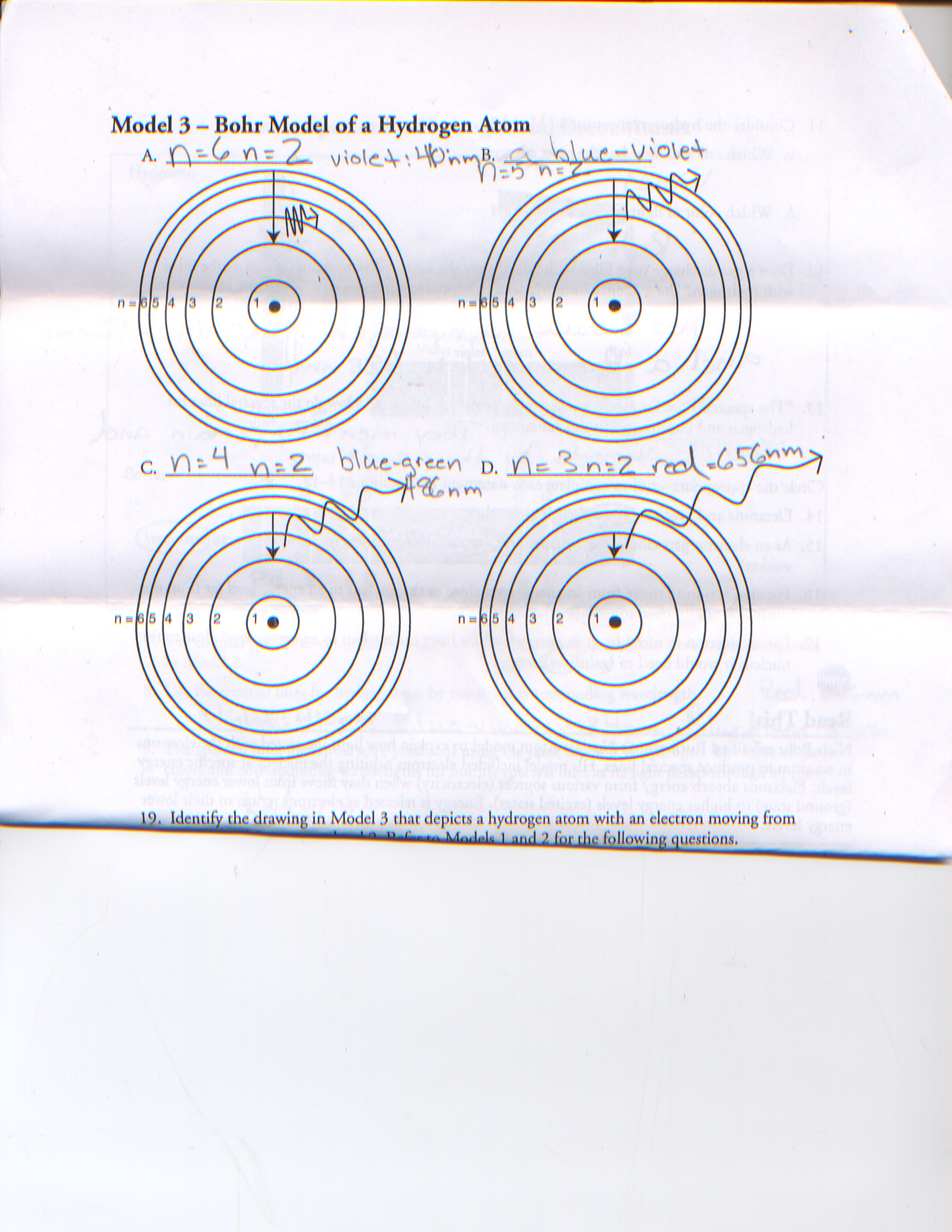 Electron Energy And Light Pogil Answers