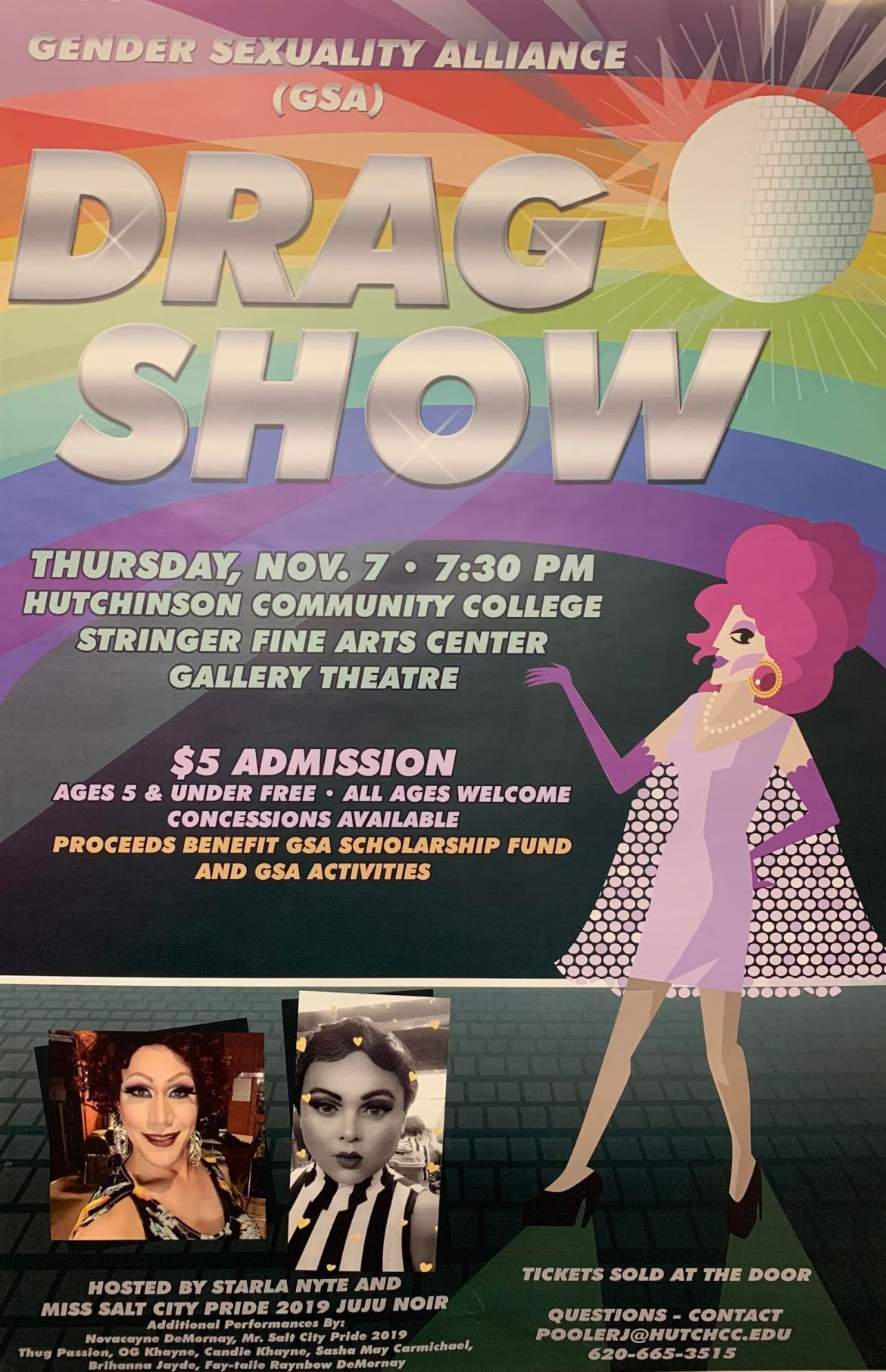 Drag show coming to HutchCC