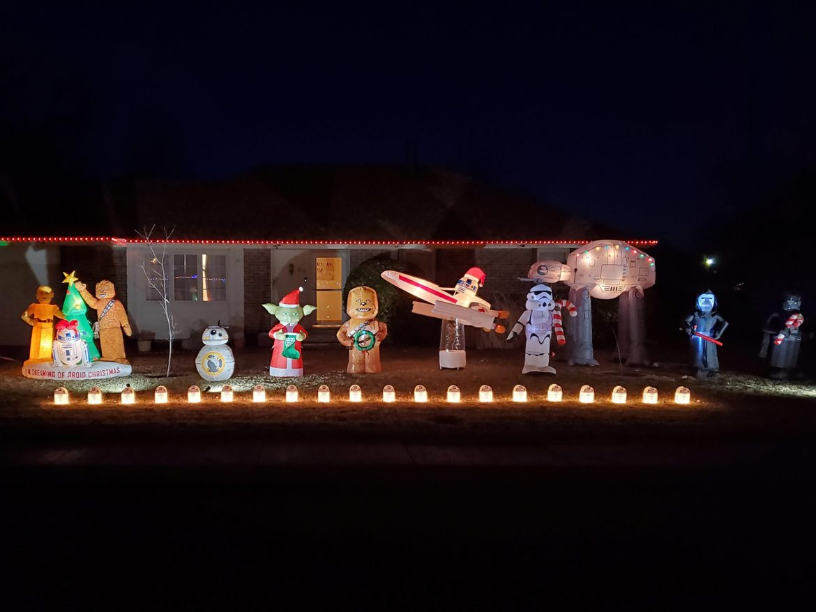Instructors use the force of Christmas