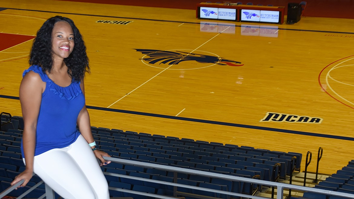 Down with HutchCC: Experienced Downing brings skillset to Blue Dragon volleyball