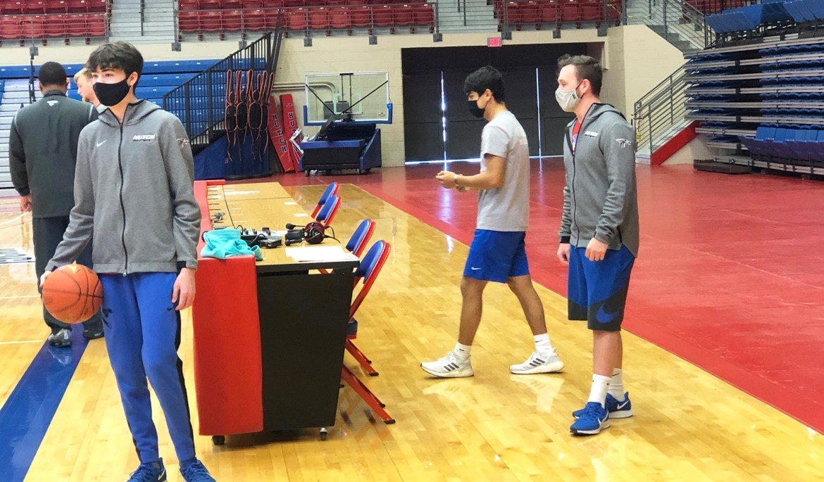 Managerial skills: Blue Dragon basketball managers play important role
