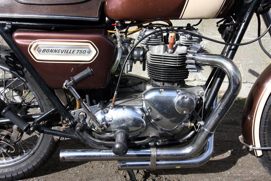 1978 Triumph Bonneville Wiring Diagram