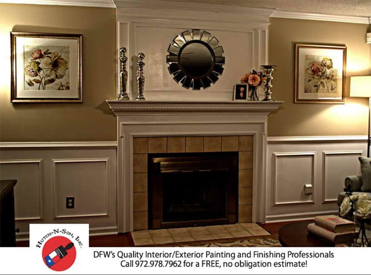 Drywall and painting crown molding