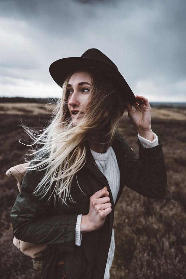 Lookbook EveOaks - Portrait photography