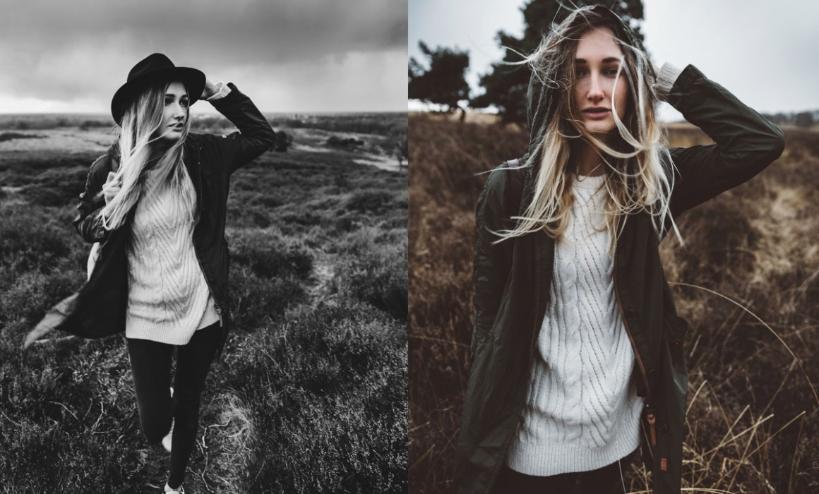 Lookbook EveOaks - Portrait photography