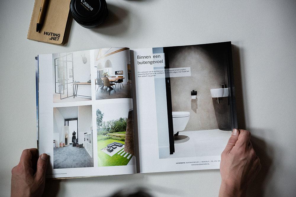 Published Droomhuis magazinPublished Droomhuis magazine - Interior photographye - Interior photography