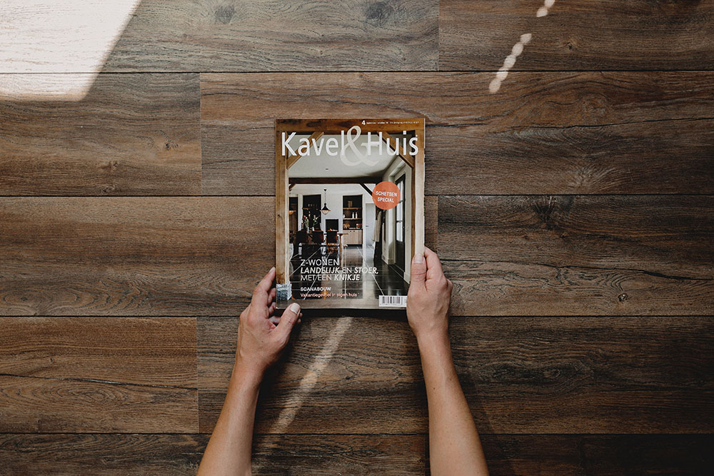 Published Kavel en Huis magazine - Interior photography