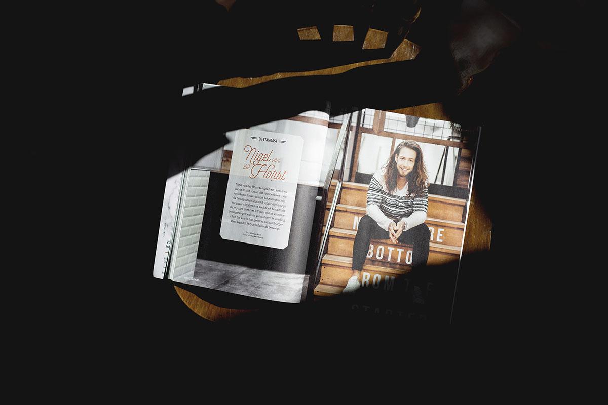 Published   KoffieTCacao magazine #28 fotoshoot van Nigel van der Horst