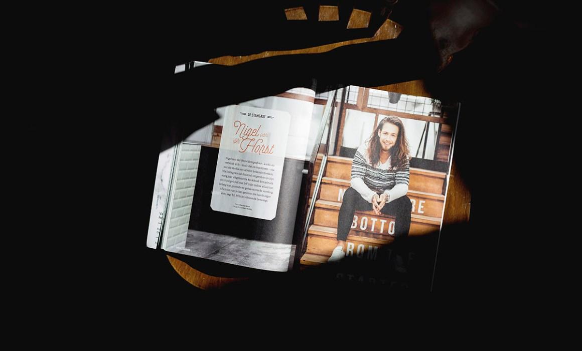 Published | KoffieTCacao magazine #28 fotoshoot van Nigel van der Horst