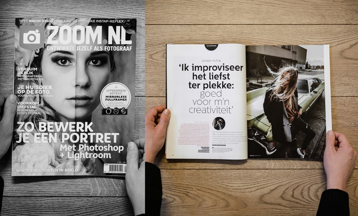 Publicatie in Zoom.nl magazine 'in the Picture'