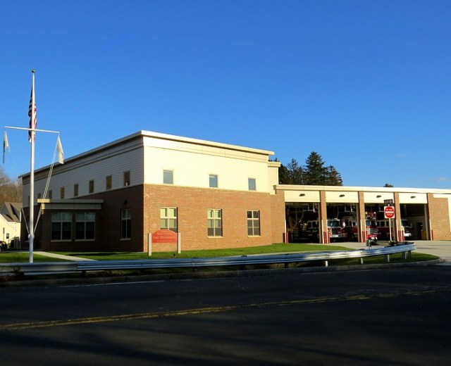 North Andover MA Fire Station