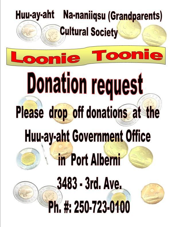 Na-naniiqsu Donation request 2015