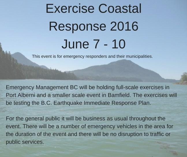 Exercise Coastal Response 2016