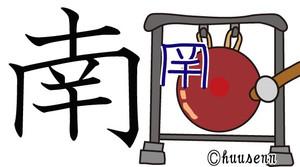 小學校で習う漢字 東西南北: 風船あられの漢字ブログ