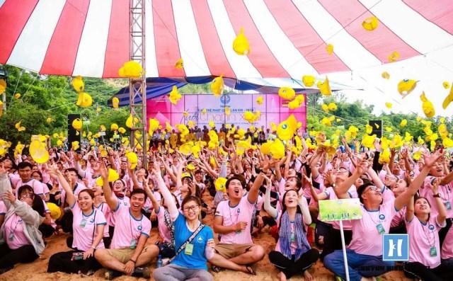 Hội trại tuổi trẻ phật giáo ở Phan Thiết