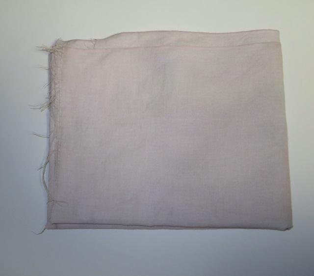 バタフライピー染めをした綿の手ぬぐい