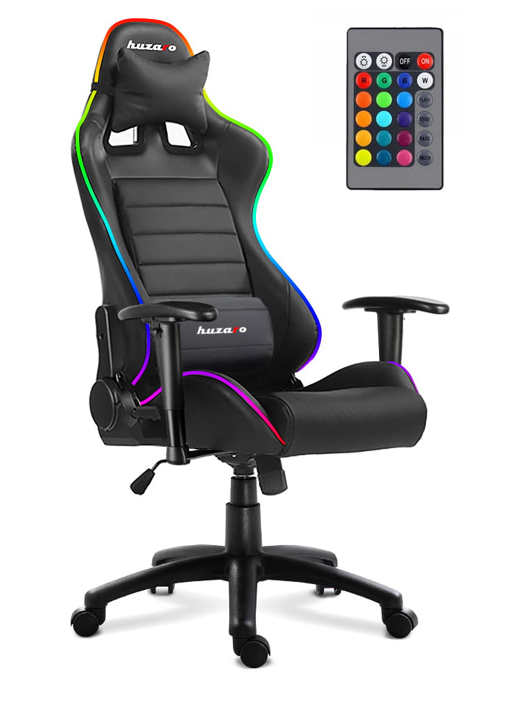 Gaming-Chairs-HUZARO-FORCE-6.0-LED