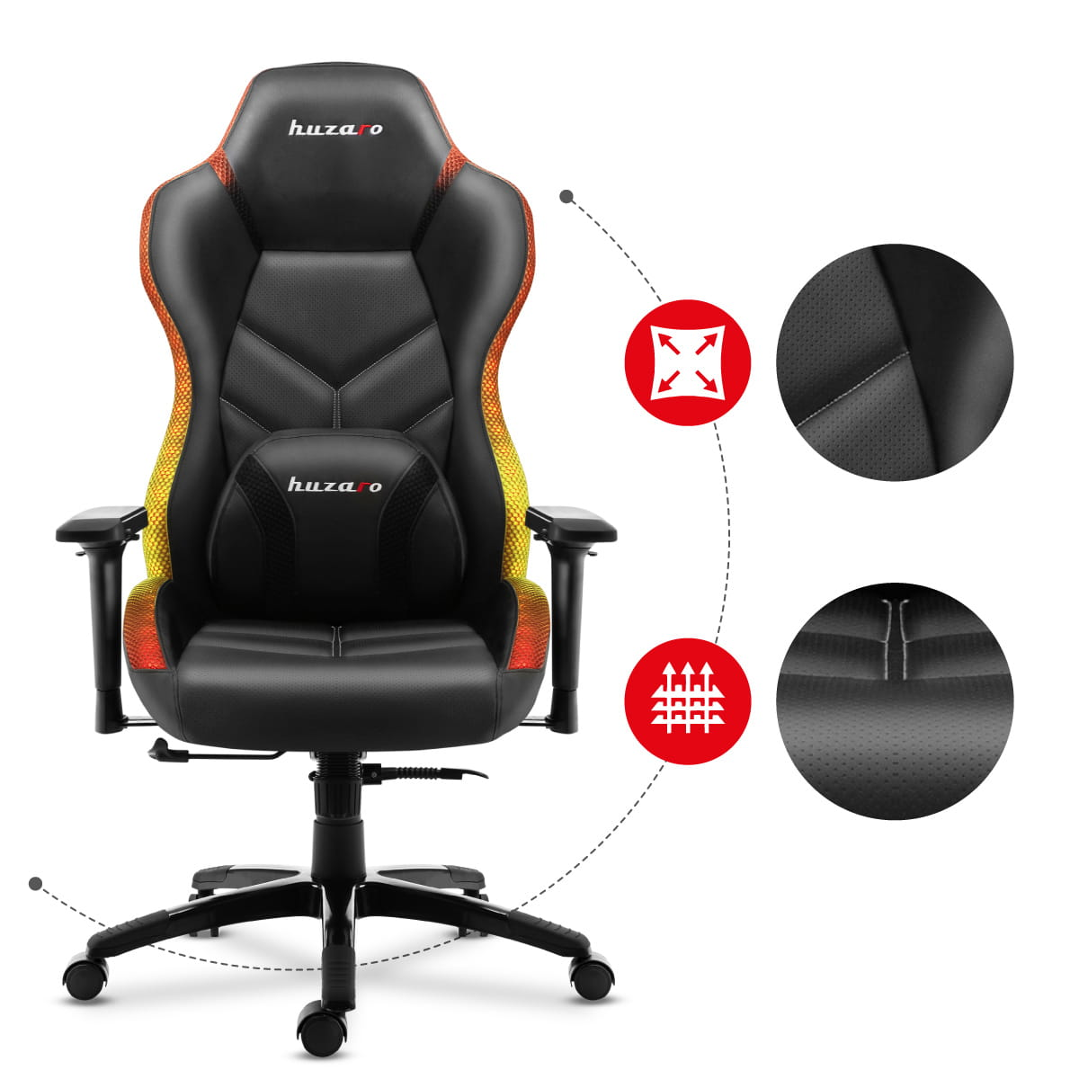 Gaming chair force 6.6 huzaro5