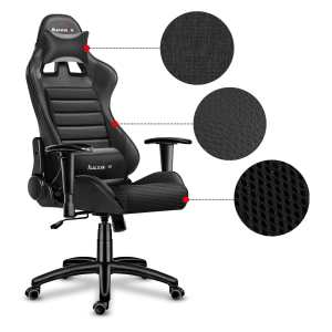 gaming chair led huzaro 6.0 mesh