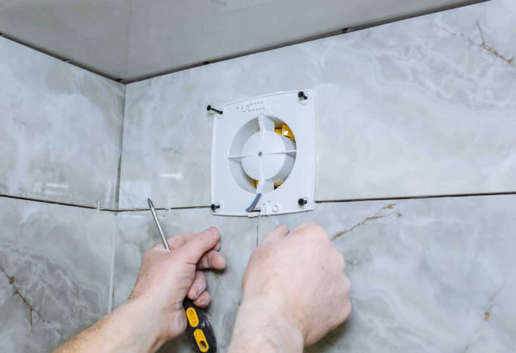 can bathroom exhaust fans be installed