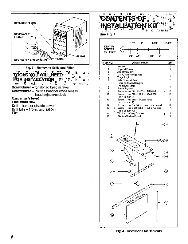Carrier 73sc 1si Heat Air Conditioner Manual