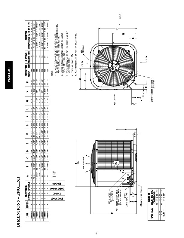 Carrier 24abb3c 3pd Heat Air Conditioner Manual
