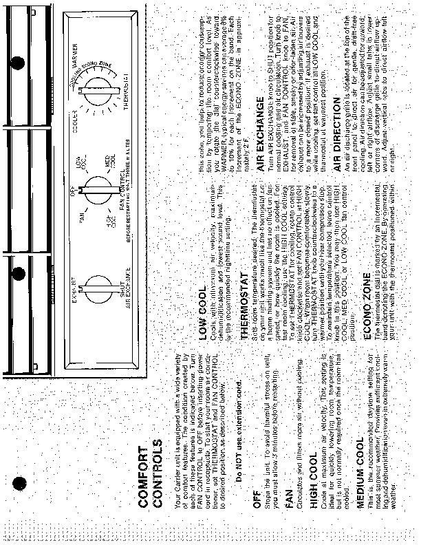 Carrier 51 108 Heat Air Conditioner Manual