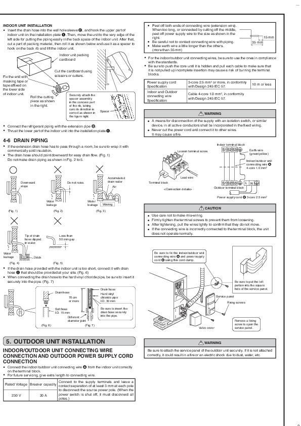 Mitsubishi MSZ GB50VA MUZ GB50VA Wall Air Conditioner