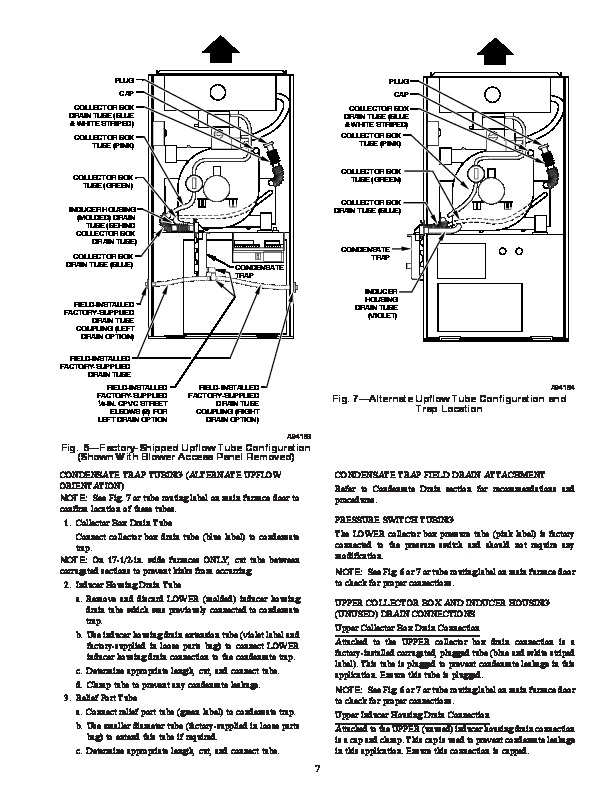 Carrier 58MSA 9SI Gas Furnace Owners Manual