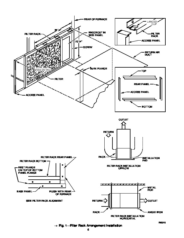 Carrier 58BTA 3SI Gas Furnace Owners Manual