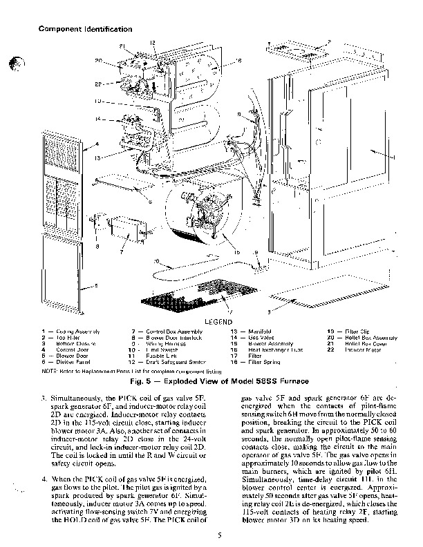 Carrier 58DH 58SS 1SO Gas Furnace Owners Manual