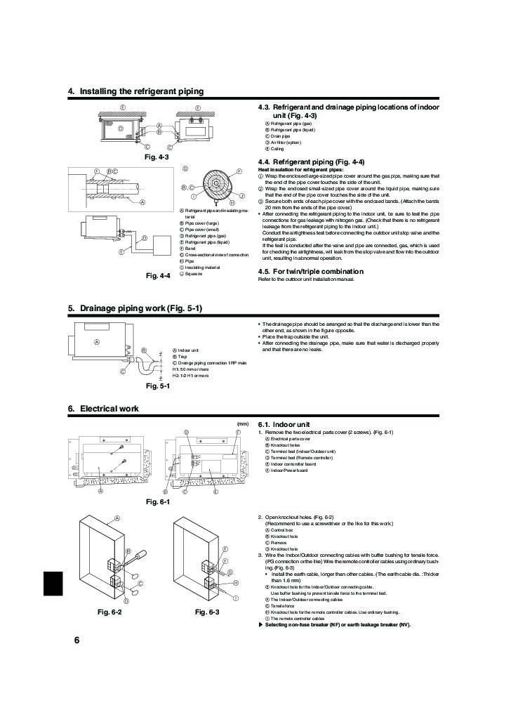 Mitsubishi mr slim installation manual