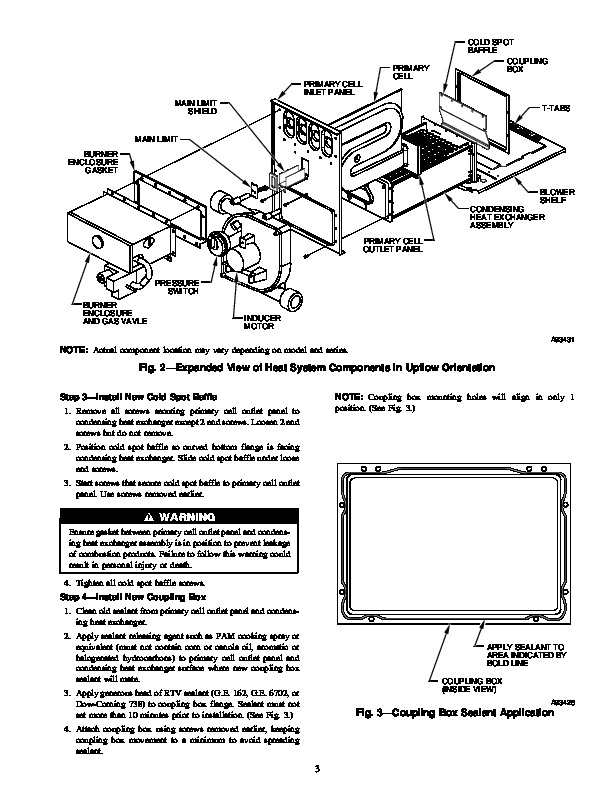 Carrier 58M 46SI Gas Furnace Owners Manual