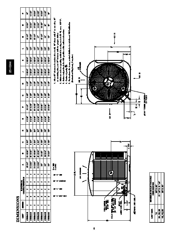 Carrier 25hba4 1pd Heat Air Conditioner Manual