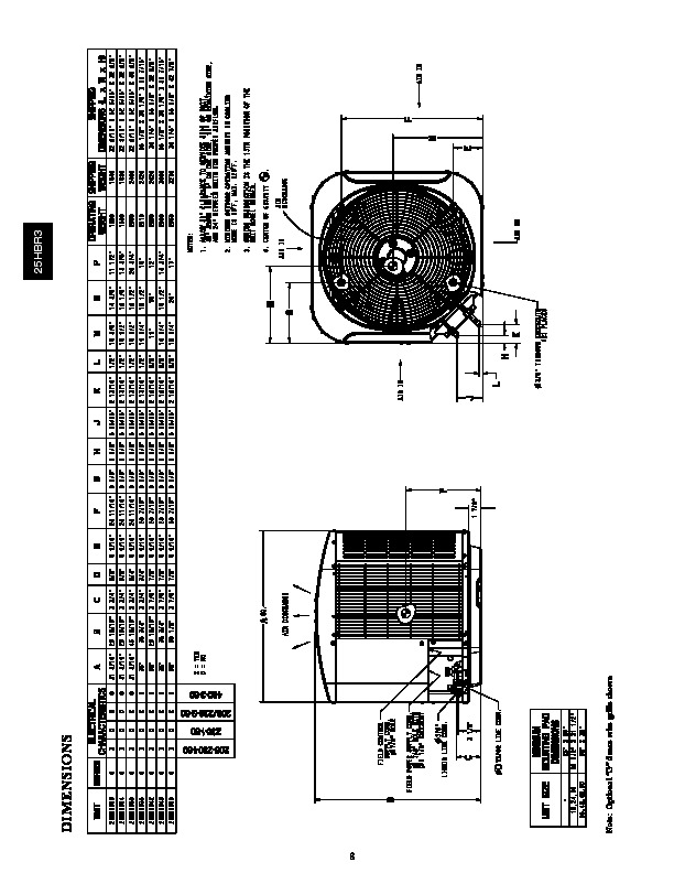 Carrier 25hbr3 3pd Heat Air Conditioner Manual