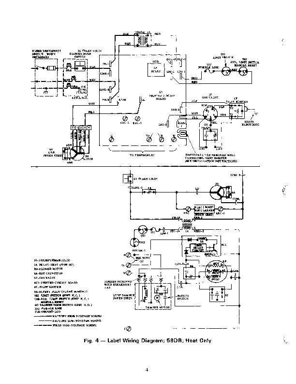 Carrier 58DR 1SI Gas Furnace Owners Manual
